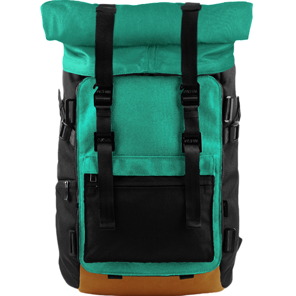 Customize Oxdin Venix Roll-top Backpack Sample 11