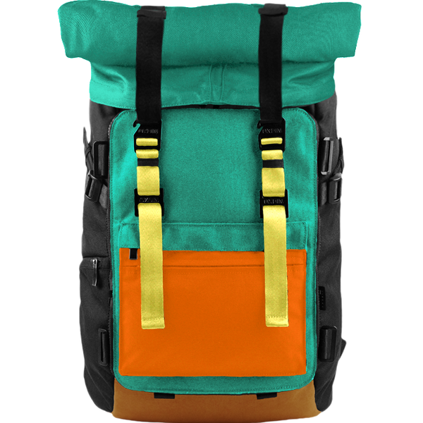 Customize Oxdin Venix Roll-top Backpack Sample 12