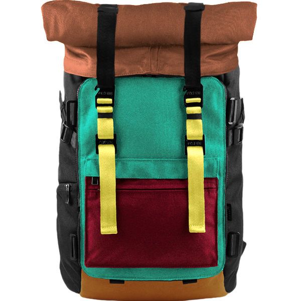 Customize Oxdin Venix Roll-top Backpack Sample 13
