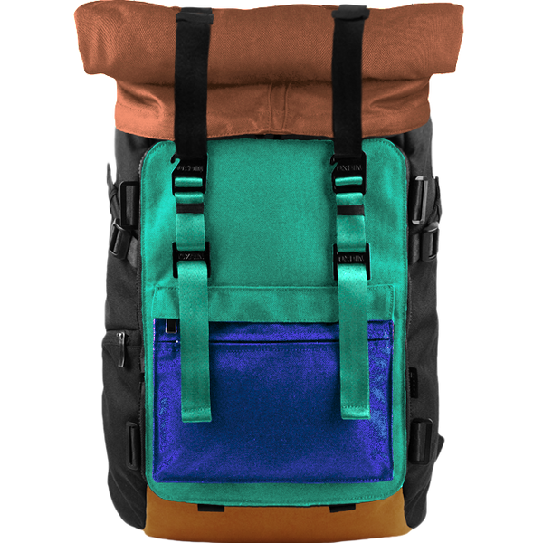 Customize Oxdin Venix Roll-top Backpack Sample 14