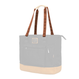 Customization Oxdin Shannon Tote Square Straps Brown