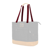 Customization Oxdin Shannon Tote Square Straps Burgundy