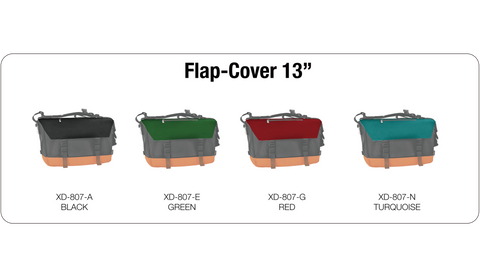 OXDIN HAROLD MESSENGER FLAP COVER CUSTOMIZATION 13