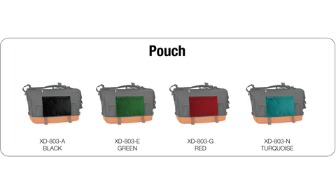 OXDIN HAROLD MESSENGER BAG POUCH CUSTOMIZATION