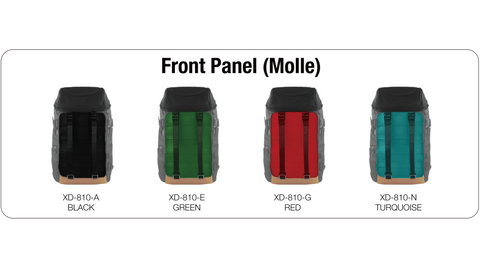 OXDIN VENIX CAP TOP MOLLE COMBINATION FRONT PANEL SAMPLE