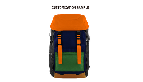 Oxdin Venix Backpack CAP-Top XD-101 COMBINATION SAMPLE 01