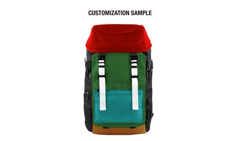 Oxdin Venix Backpack CAP-Top XD-101 COMBINATION SAMPLE 02