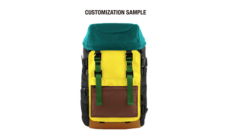 Oxdin Venix Backpack CAP-Top XD-101 COMBINATION SAMPLE 03