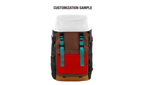 Oxdin Venix Backpack CAP-Top XD-101 COMBINATION SAMPLE 04