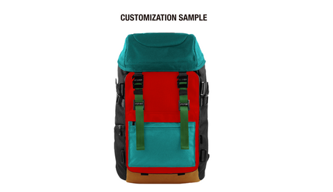 Oxdin Venix Backpack CAP-Top XD-101 COMBINATION SAMPLE 05