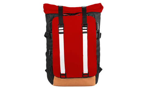 Oxdin Venix Backpack Roll-Top Plain XD-104 Customization Sample 01