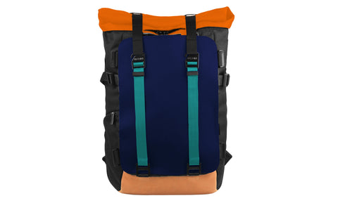 Oxdin Venix Backpack Roll-Top Plain XD-104 Customization Sample 02