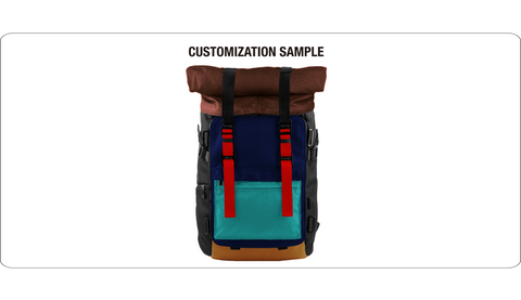 Oxdin Venix Backpack Roll-Top XD-100 COMBINATION SAMPLE 01