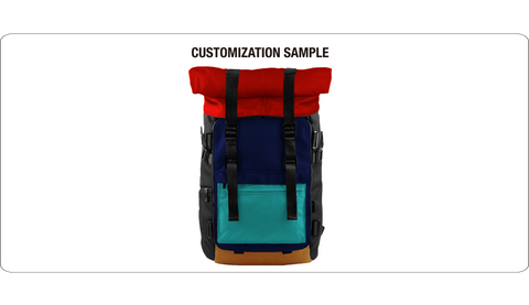 Oxdin Venix Backpack Roll-Top XD-100 COMBINATION SAMPLE 02
