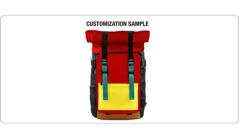Oxdin Venix Backpack Roll-Top XD-100 COMBINATION SAMPLE 03