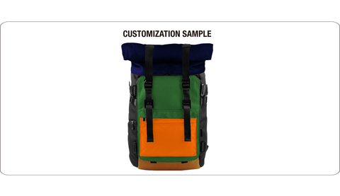 Oxdin Venix Backpack Roll-Top XD-100 COMBINATION SAMPLE 04