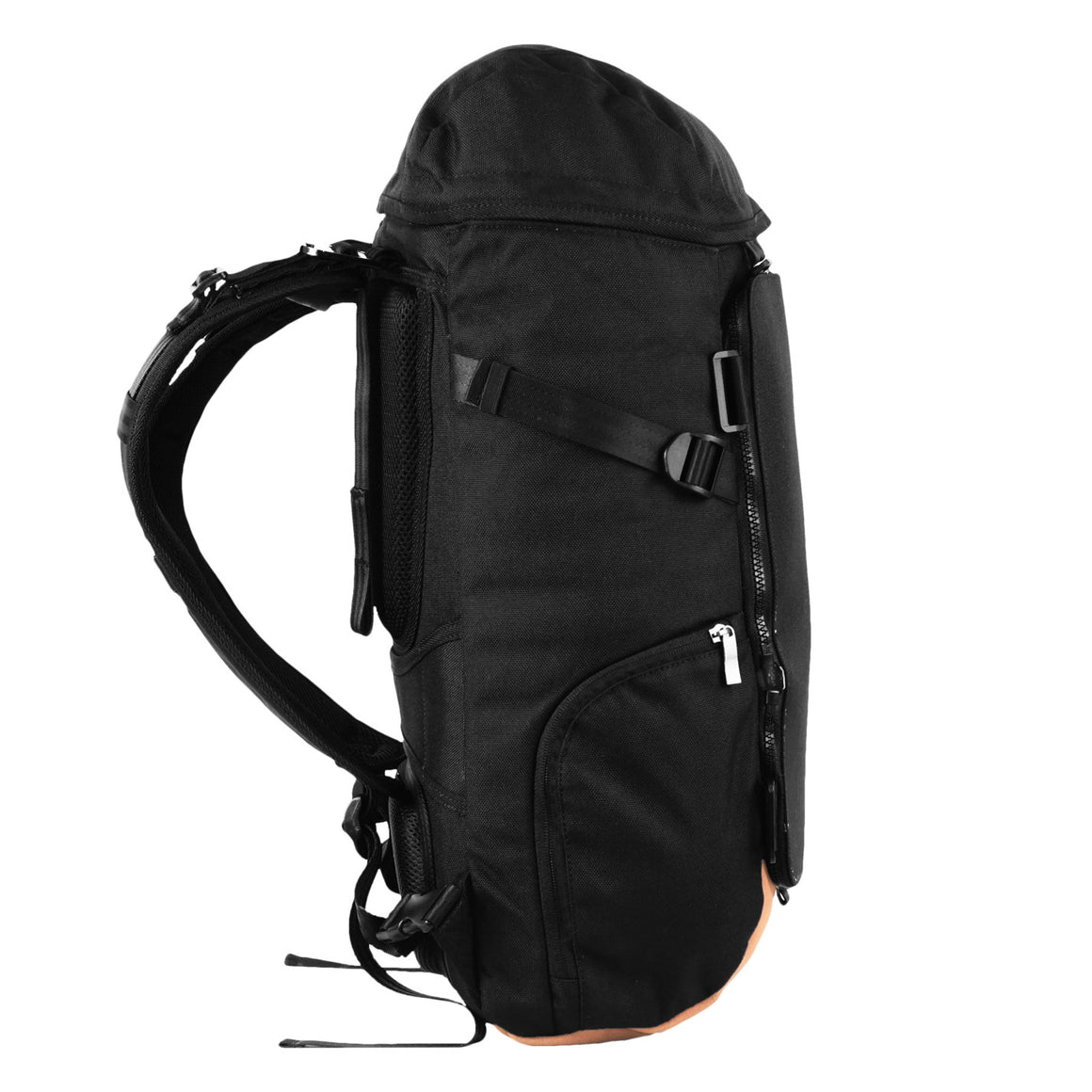 Oxdin Venix Cap-Top Plain Backpack XD-105-4-A-EEXX
