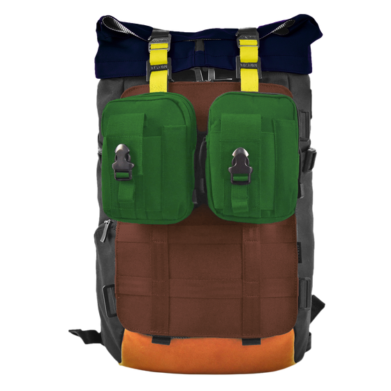 Oxdin Venix Roll-Top Molle Backpack XD-106-4-A-LDEF
