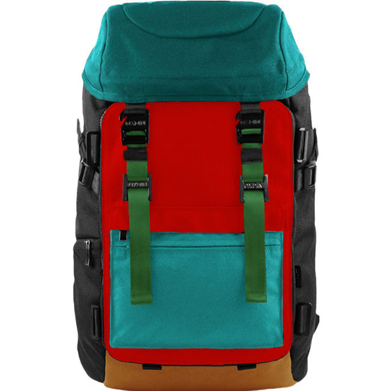 Oxdin Venix Cap-Top Backpack XD-101-4-A-GNNE
