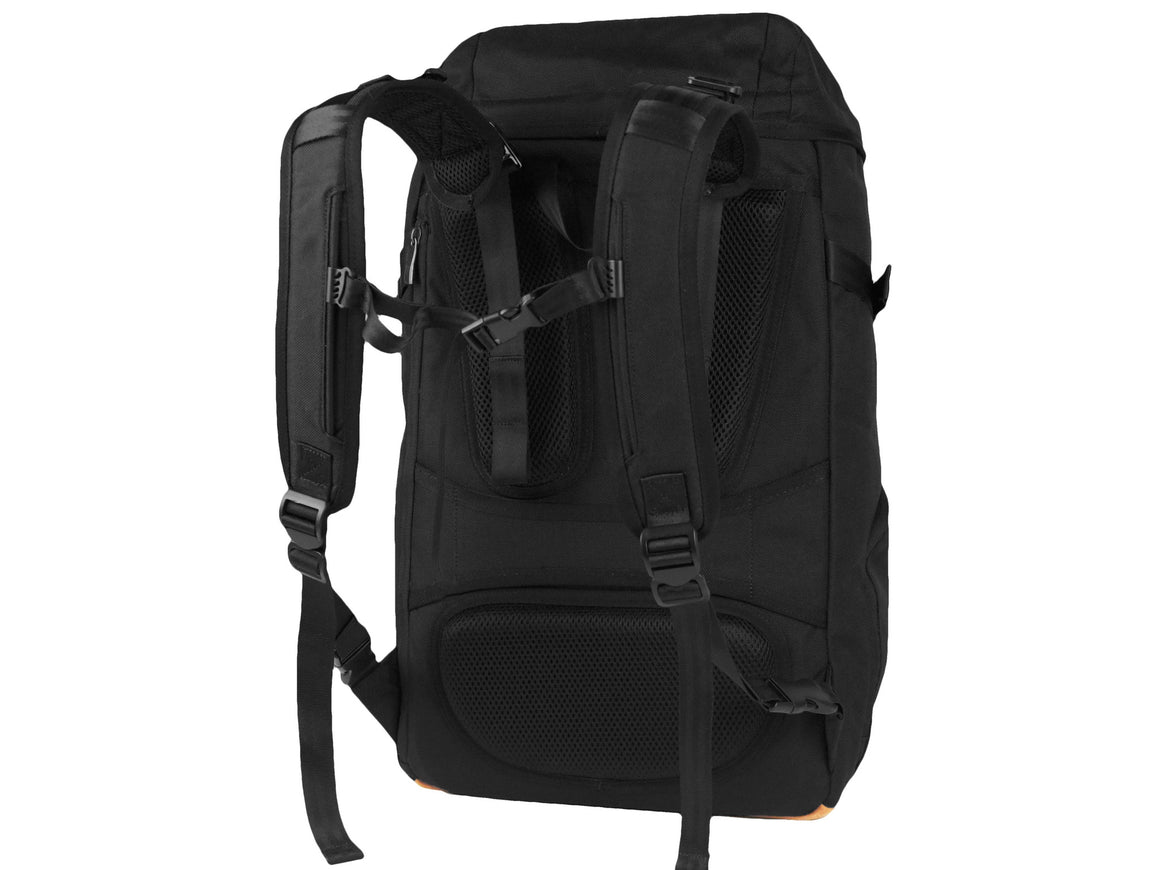 Oxdin Venix Cap-Top Plain Backpack XD-105-4-A-GCXX