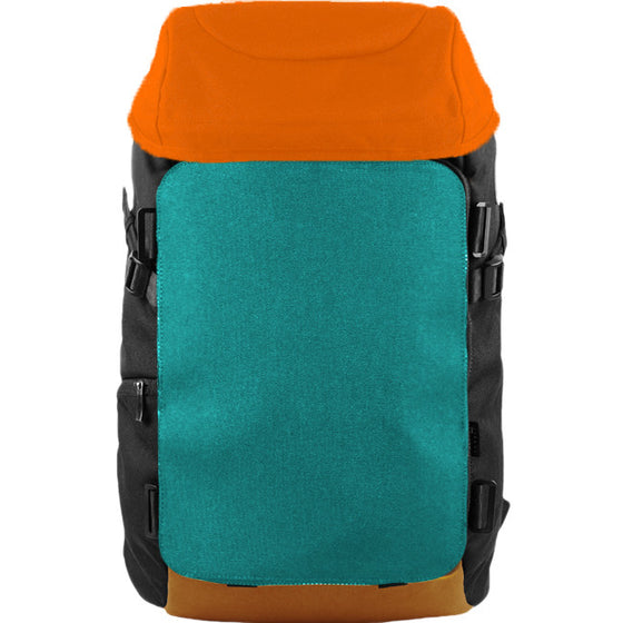 Oxdin Venix Cap-Top Plain Backpack XD-105-4-A-NHXX