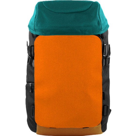 Oxdin Venix Cap-Top Plain Backpack XD-105-4-A-HNXX