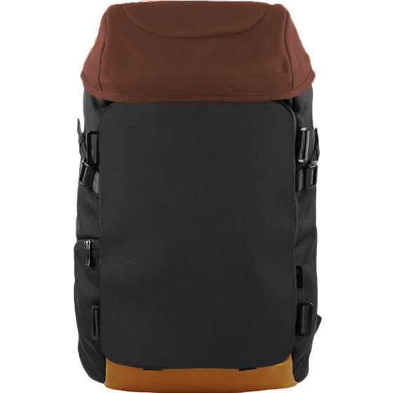 Oxdin Venix Cap-Top Plain Backpack XD-105-4-A-ALXX