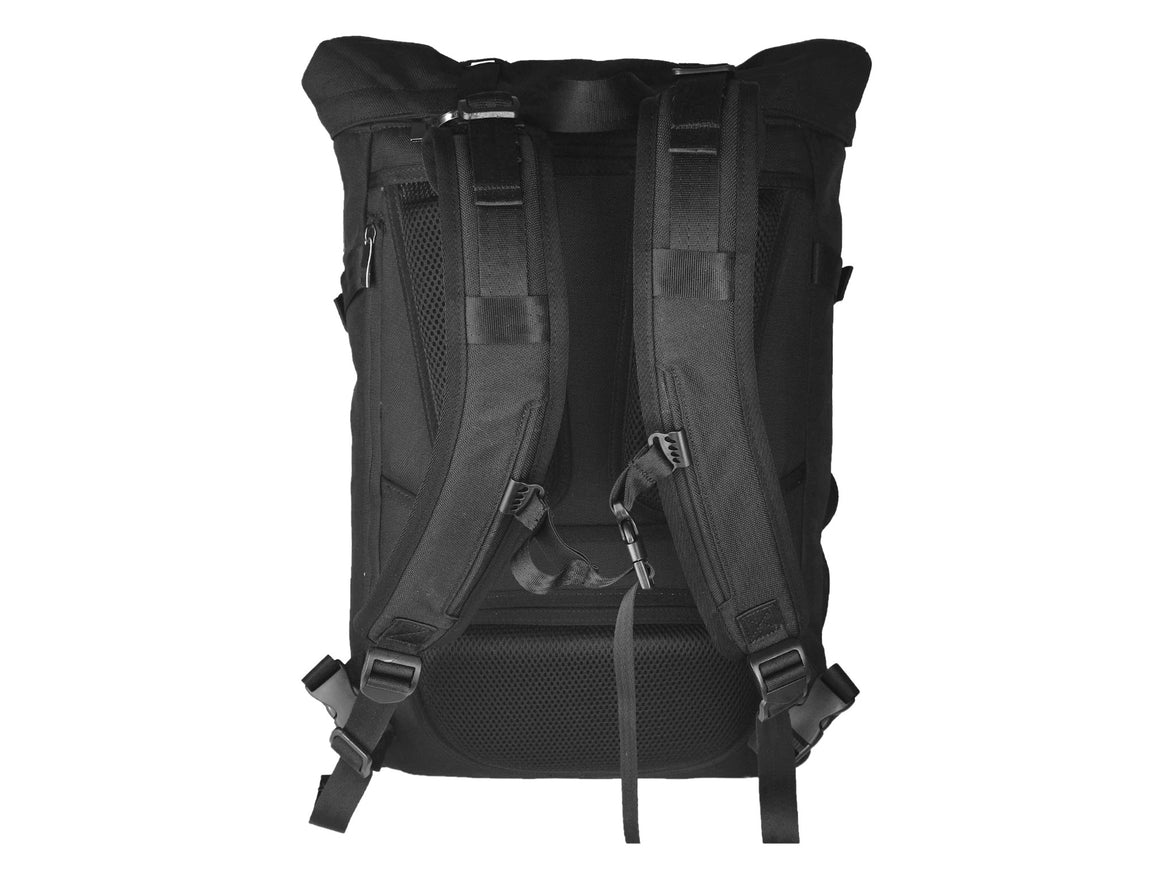 Oxdin Venix Roll-Top Backpack XD-100-4-A-AAAA BLACK
