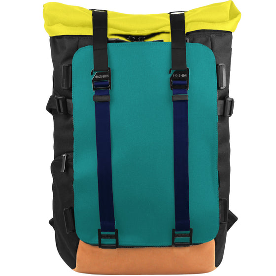 Oxdin Venix Roll-Top Plain Backpack XD-104-4-A-NFXD