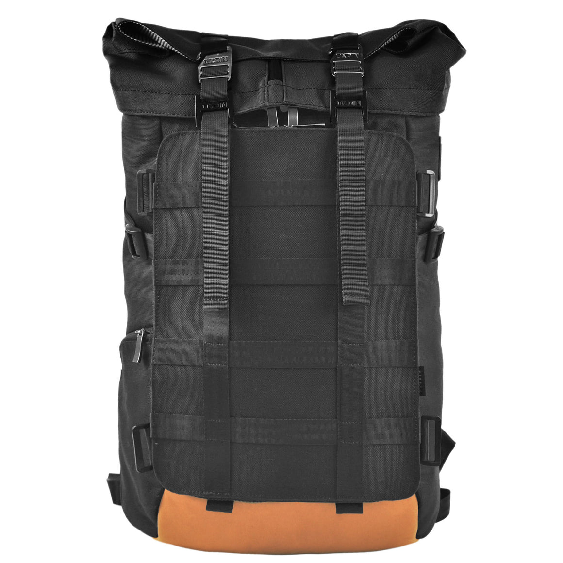 Oxdin Venix Roll-Top Molle Backpack XD-102-4-A-AAAA BLACK
