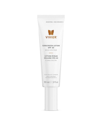 Bottle of Vivier Sunscreen Lotion SPF 30
