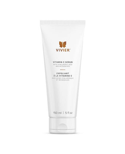 Bottle of Vivier Vitamin C Scrub