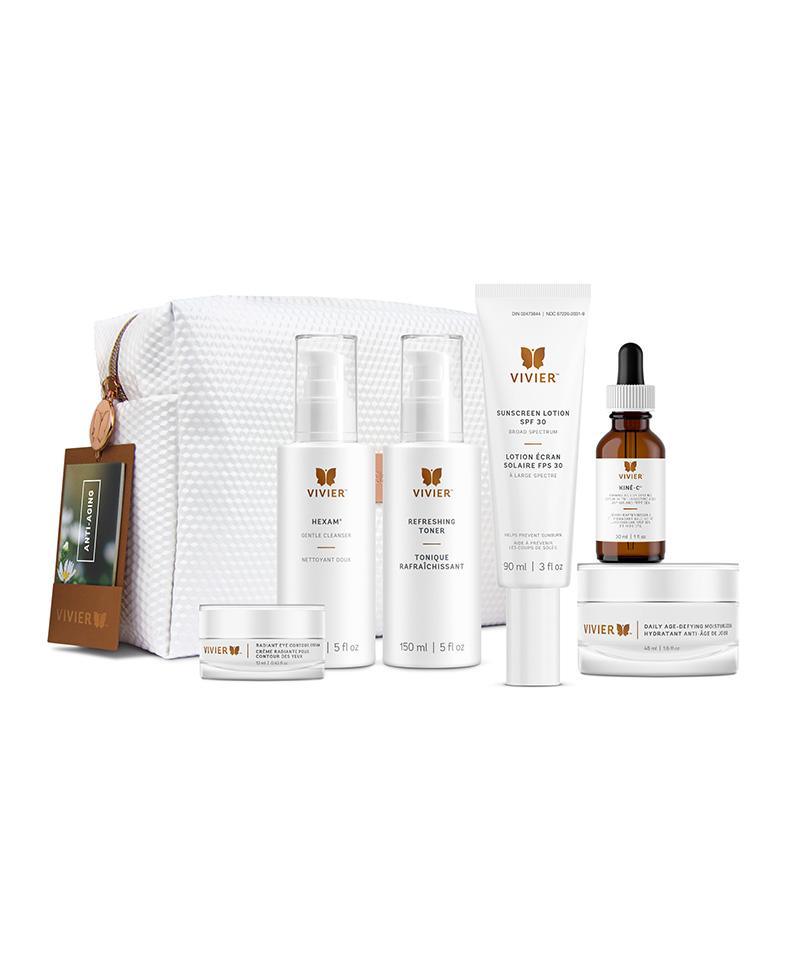 Bottle of Vivier Anti-Aging Program