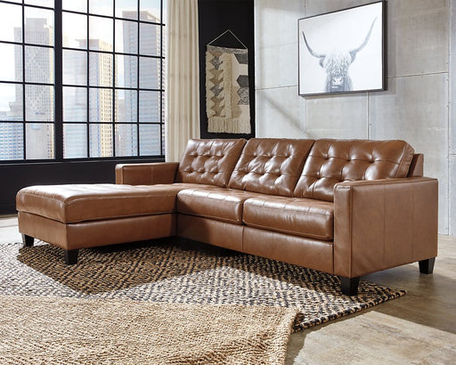 Baskove Signature Design by Ashley 2-Piece Sectional with Chaise image