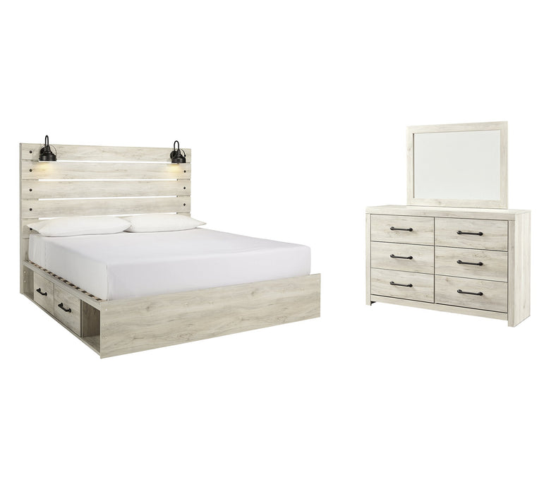 Cambeck Signature Design 5-Piece Bedroom Set with 4 Storage Drawers image