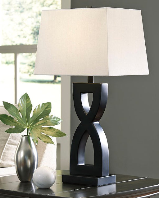 Amasai Signature Design by Ashley Table Lamp Set of 2 image