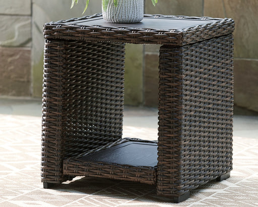 Grasson Lane Signature Design by Ashley Outdoor End Table image