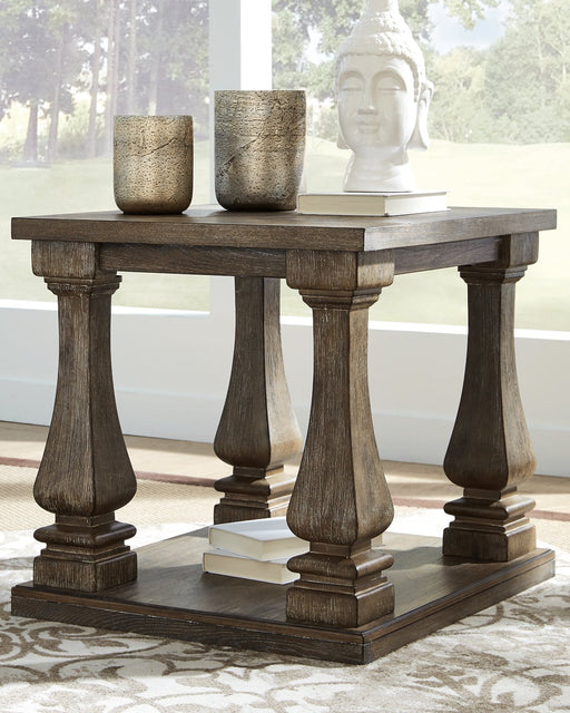 Johnelle Signature Design by Ashley End Table image