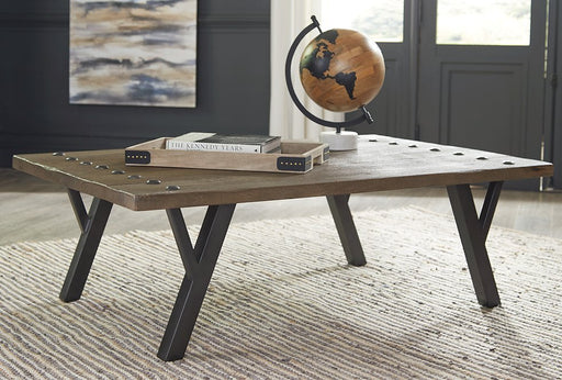 Haffenburg Signature Design by Ashley Cocktail Table image