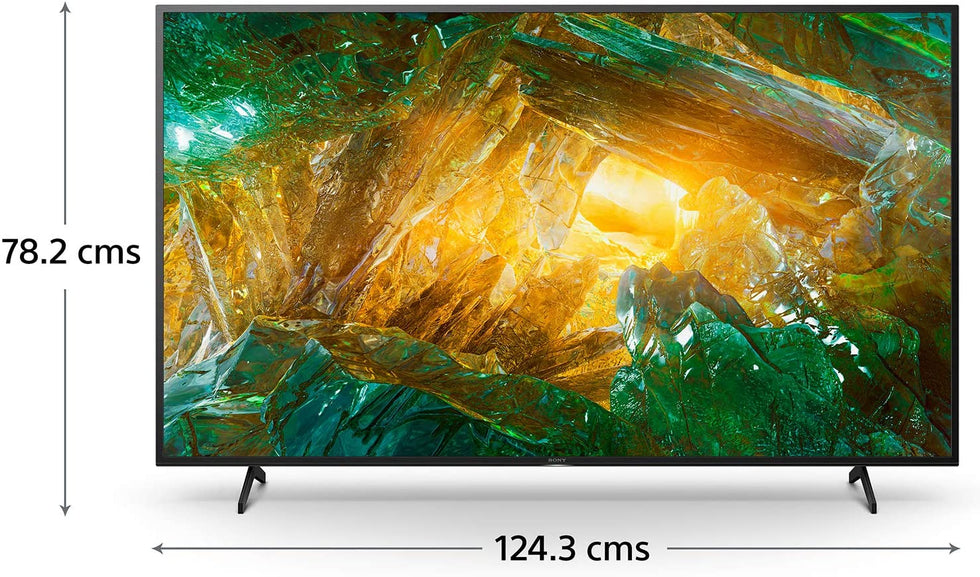 Sony Bravia 138.8 cm (55 inches) 4K Ultra HD Smart Certified Android LED TV 55X8000H