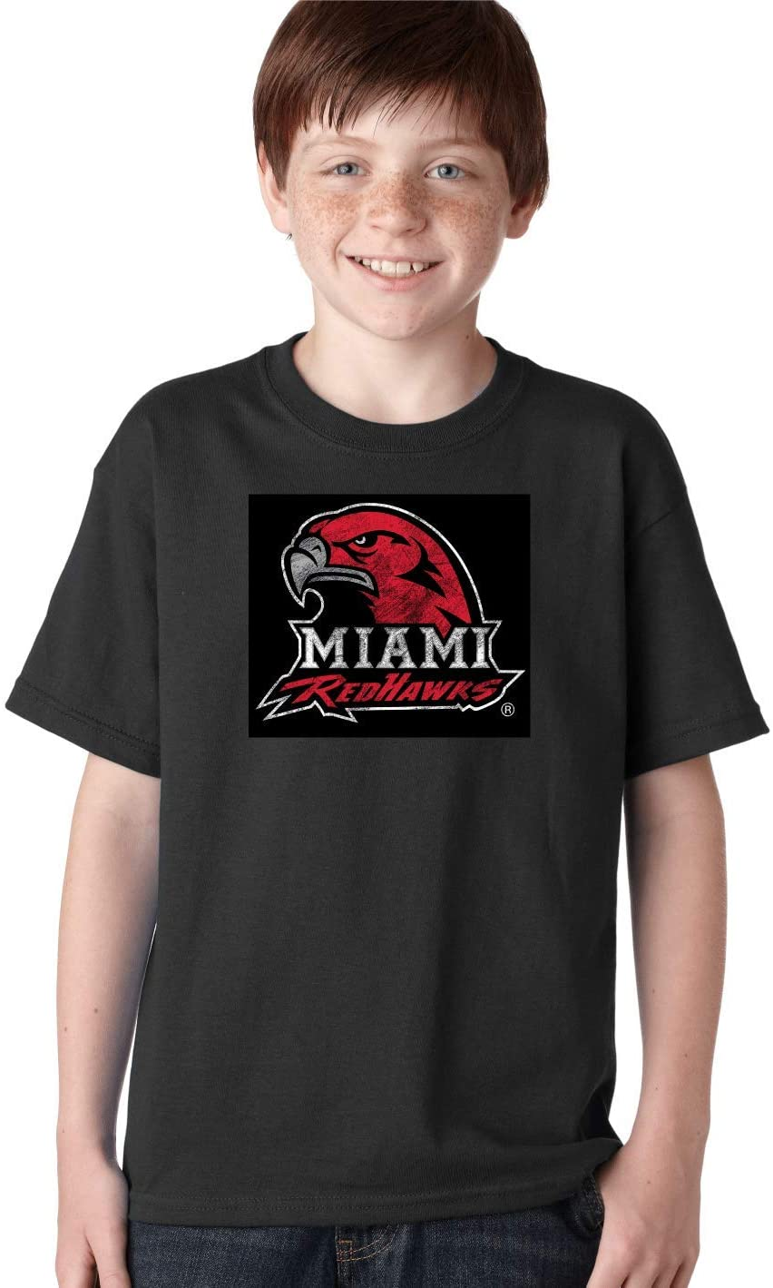 J2 Sport Miami University Redhawks NCAA Big Mascot Youth T-Shirt