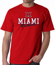 Load image into Gallery viewer, J2 Sport Miami University Redhawks NCAA Campus Script Unisex T-Shirt
