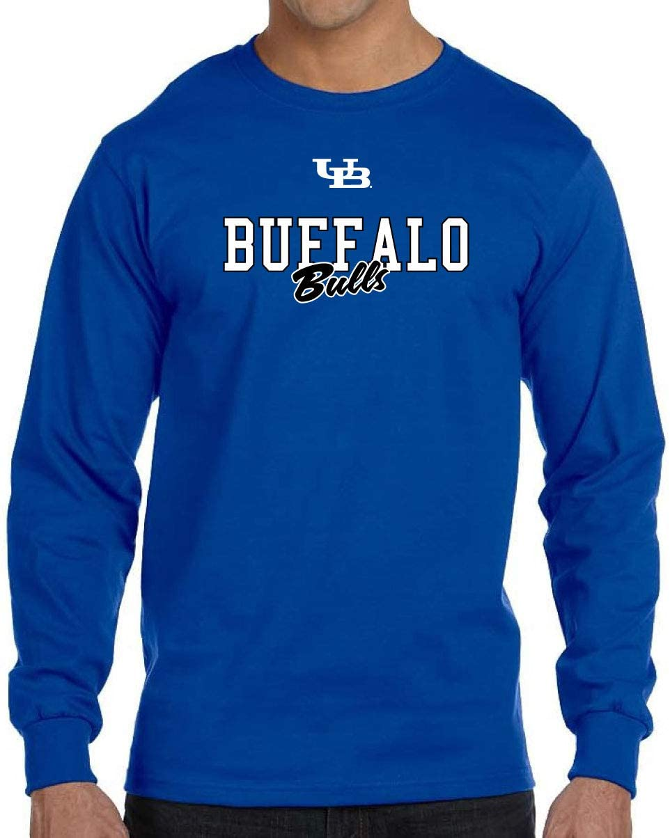 Buffalo Bulls NCAA Campus Script Unisex Long Sleeve T-Shirt