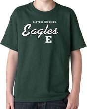 Load image into Gallery viewer, Eastern Michigan University Eagles NCAA Campus Script Unisex T-Shirt