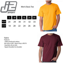 Load image into Gallery viewer, J2 Sport Central Michigan University Chippewas NCAA Sticker Unisex T-Shirt