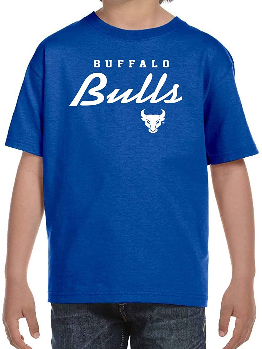 University at Buffalo Bulls NCAA Machine Script Youth T-Shirt