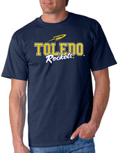 Load image into Gallery viewer, University of Toledo Rockets NCAA Campus Script Unisex T-Shirt