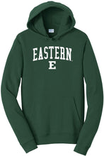 Load image into Gallery viewer, Eastern Michigan University Eagles NCAA Jumbo Arch Unisex Hooded Sweatshirt