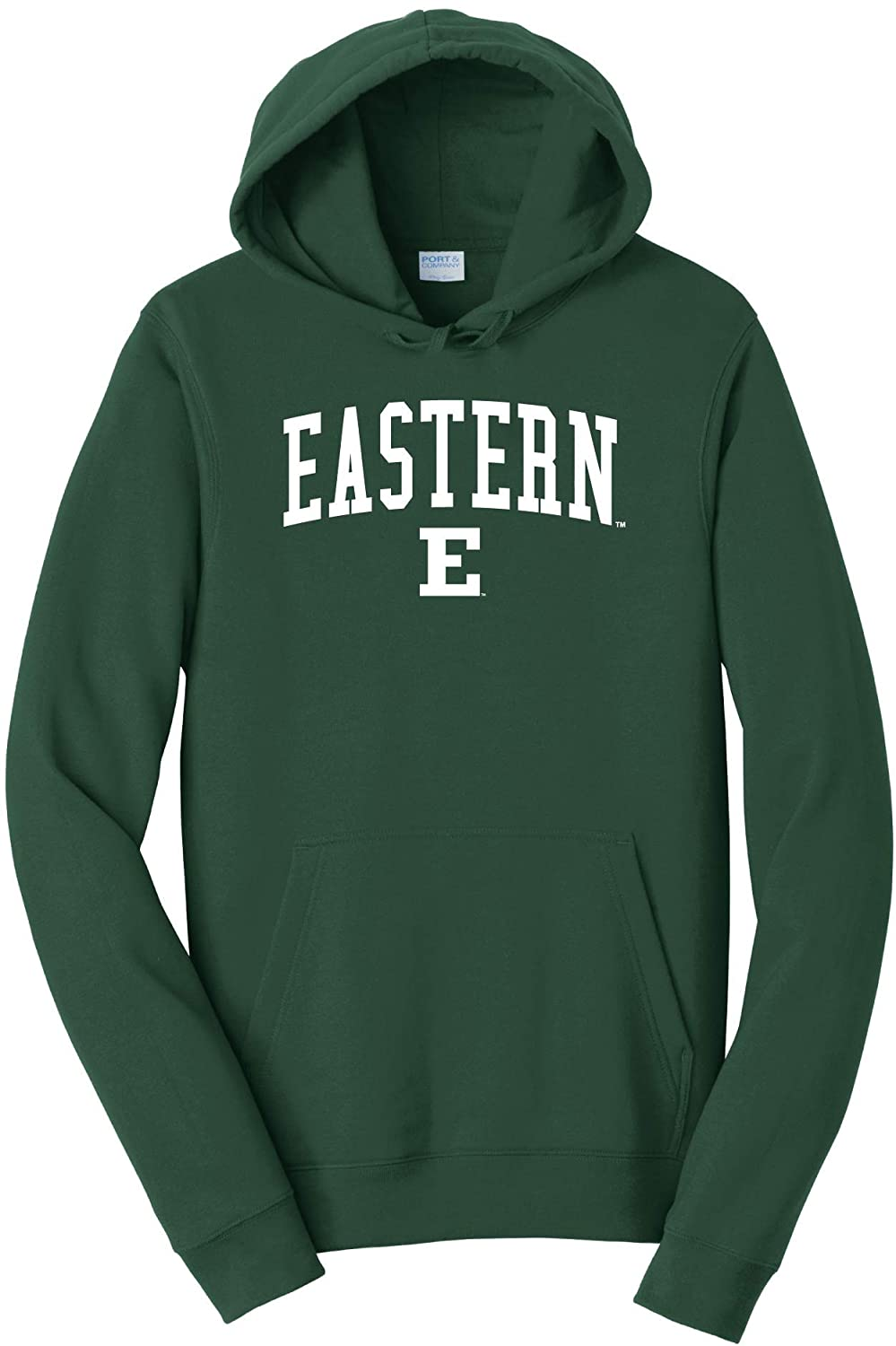 Eastern Michigan University Eagles NCAA Jumbo Arch Unisex Hooded Sweatshirt