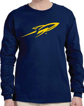 Load image into Gallery viewer, University of Toledo Rockets NCAA Rocket Unisex Long Sleeve T-Shirt